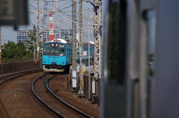 2011年4月5日 京葉線  ケヨ53+K3 稲毛海岸