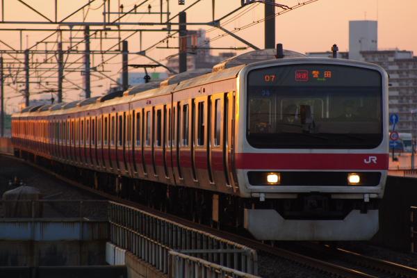 2011年4月5日 京葉線  ケヨ34 舞浜