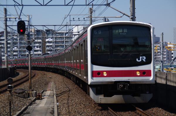 2011年4月5日 京葉線  ケヨ9 潮見
