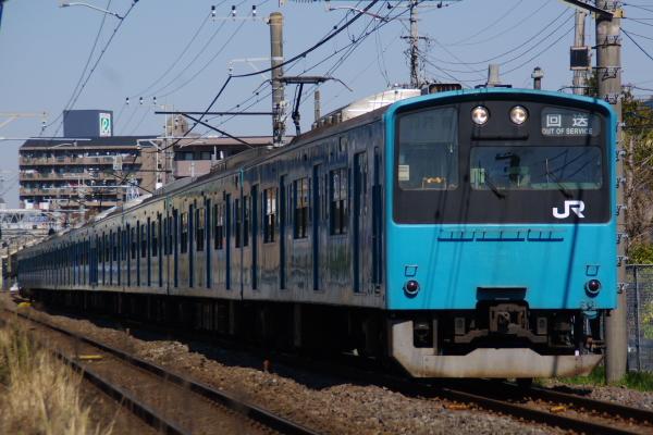 2011年4月5日 京葉線  ケヨ53+K3 鎌取-蘇我