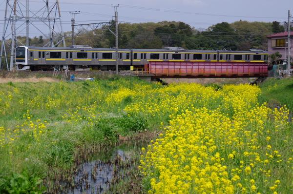 2011年4月10日 外房線  255M 蘇我-鎌取