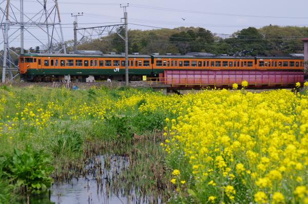 2011年4月10日 外房線 1644M マリS62 蘇我-鎌取