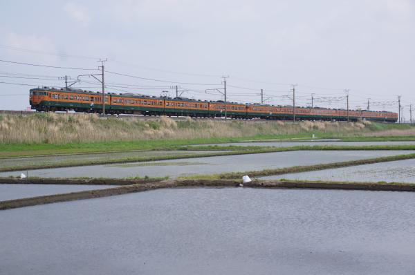 2011年4月27日 内房線 マリ117+マリS62 袖ヶ浦-巌根 161M