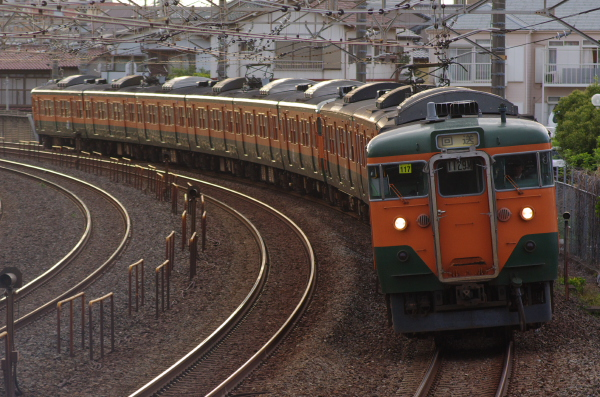 2011年5月7日 マリ117+マリS62 回1129M 新検見川-稲毛