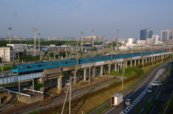 2011年6月4日 ケヨ54+K4 新習志野-海浜幕張