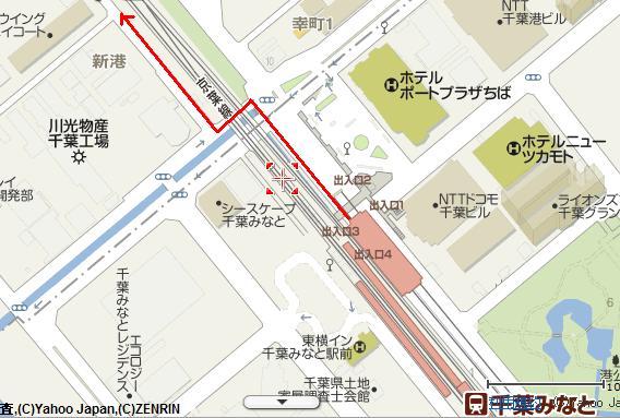 2011年6月11日 地図①