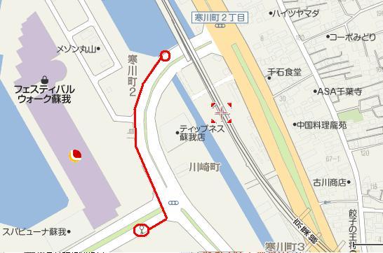 2011年6月11日 地図2