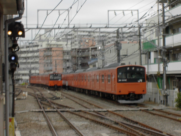 201 拝島電留線