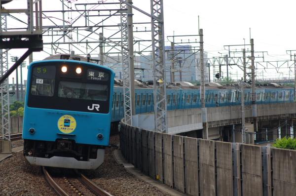 2011年6月17日 ケヨ54+K4 潮見