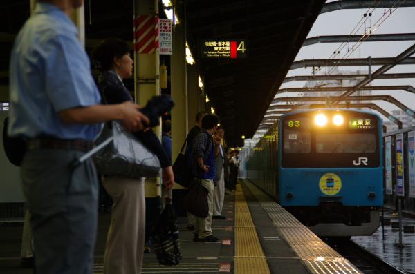 2011年6月18日 ケヨ54+K4 入線