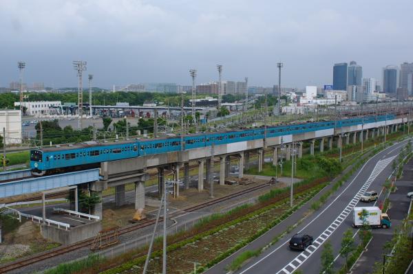 2011年6月19日 京葉線 海浜幕張-新習志野