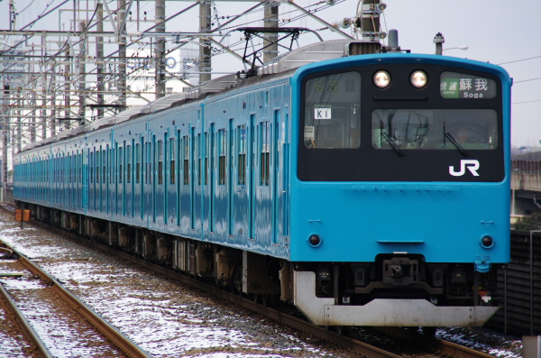 201 K1 雪 新習志野