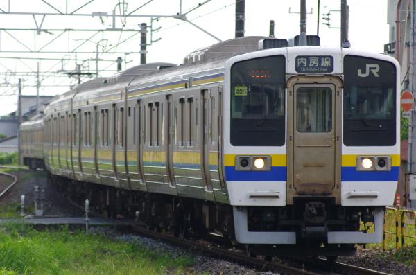 2011年7月3日 マリ405+マリ406 五井 190M
