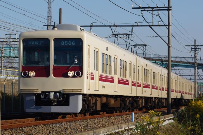 2011年10月27日 8506F 幕張-幕張本郷