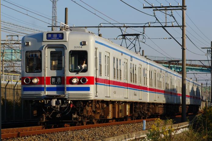 2011年10月27日 3304F 京成幕張-幕張本郷