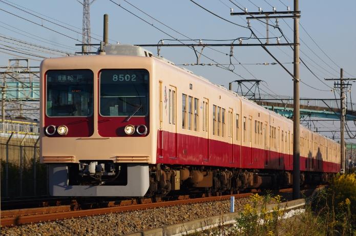 2011年10月27日 8502F 京成幕張-幕張本郷
