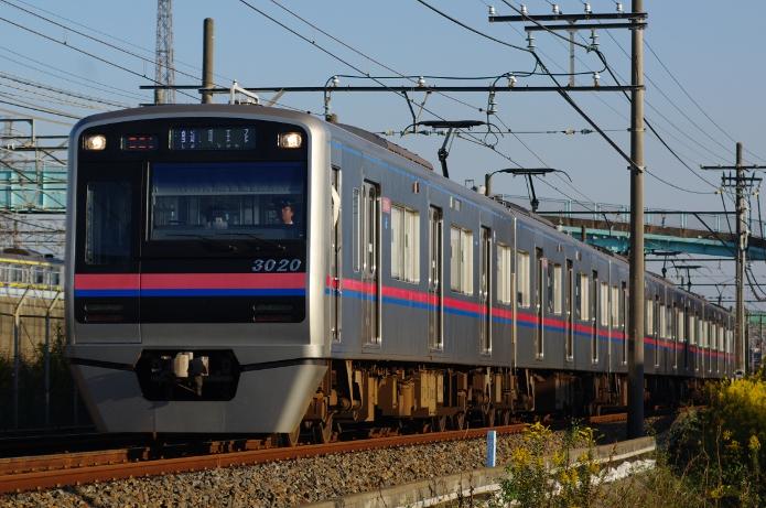 2011年10月27日 3020F 京成幕張-幕張本郷
