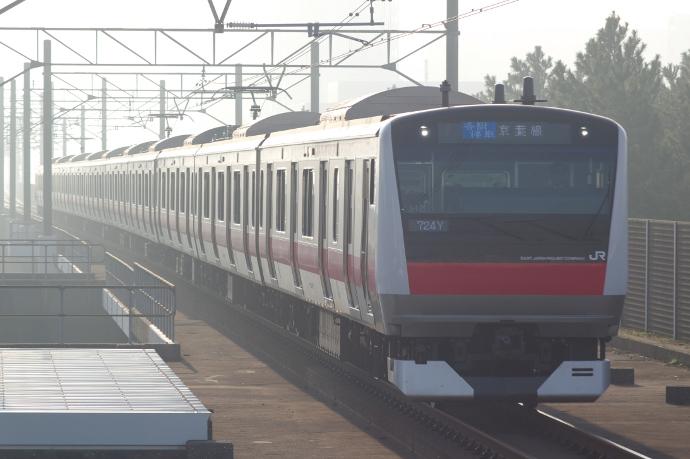 2011年11月5日 京葉線 ケヨ512 海浜幕張