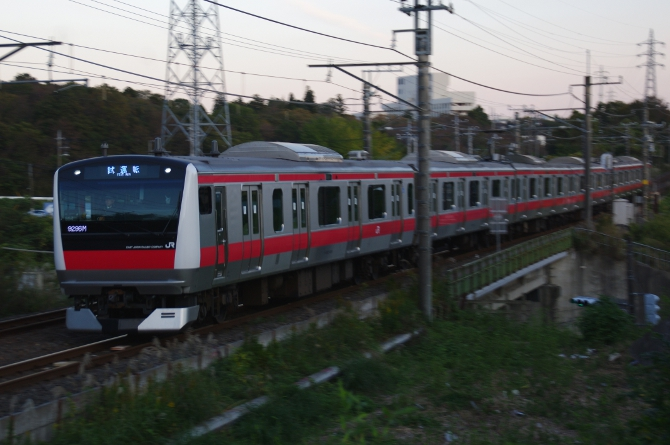 2011年11月17日 ケヨ554 誉田-鎌取