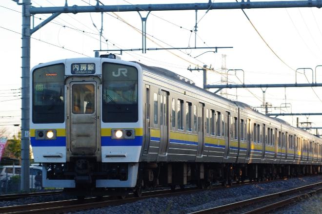 2011年11月25日 190M マリ405+マリ401 蘇我三線