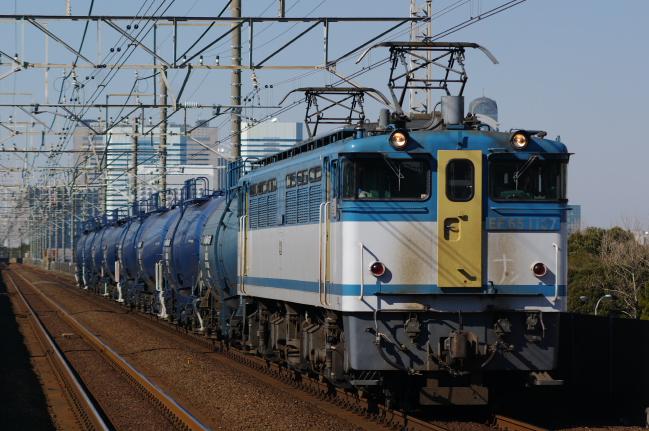 2012年1月26日 EF65-1127+タキ8車