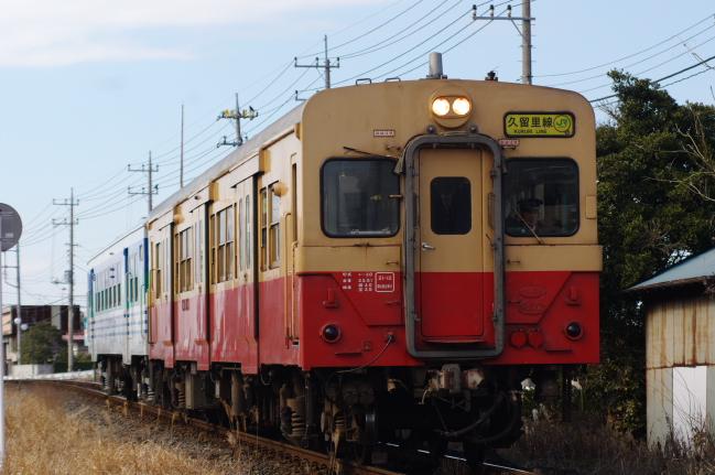 2012年2月19日 久留里線 933D キハ30-62+キハ72-2 祇園-上総清川