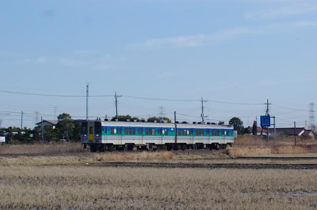 2012年2月19日 久留里線 928D キハ48 東清川-横田