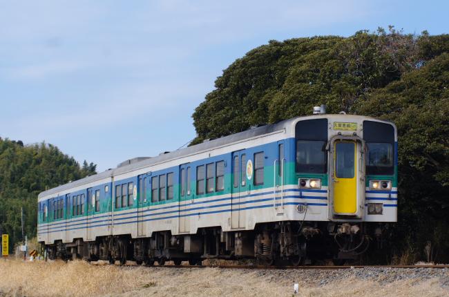 2012年2月19日 久留里線 929D キハ38-1001+キハ38-4 上総清川-東清川