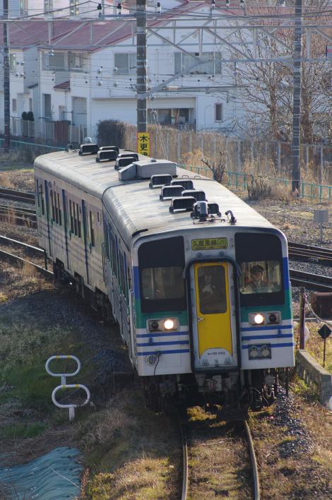 2012年2月19日 久留里線 939D キハ38-1003+キハ38-2 木更津-祇園