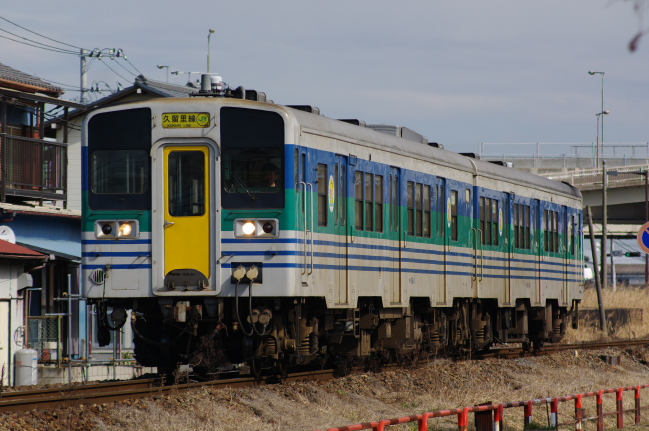 2012年2月19日 久留里線 934D キハ38-4+キハ38-1001 東清川-上総清川