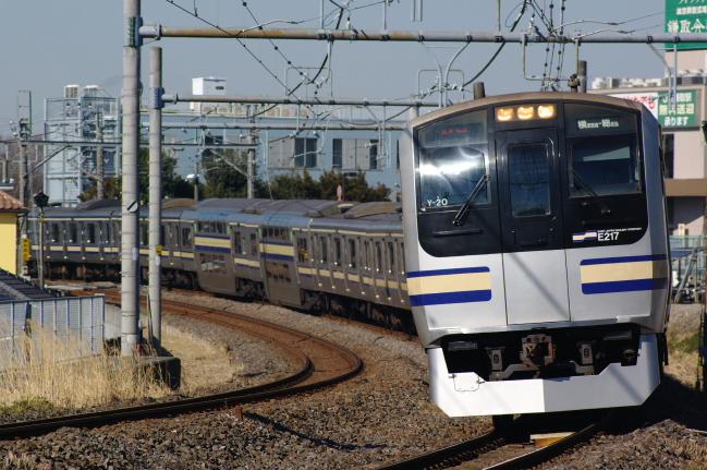 2012年2月19日 外房線 3805F クラY20 蘇我-鎌取