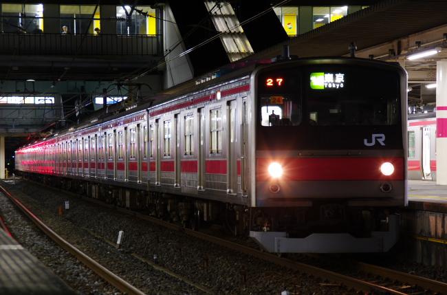 2012年2月23日 ケヨ24 27運用代走