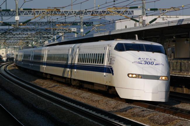 2012年2月24日 300系さよなら運転 J55