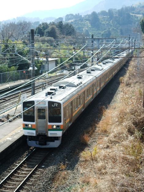 2012年2月24日 300系さよなら運転 211系