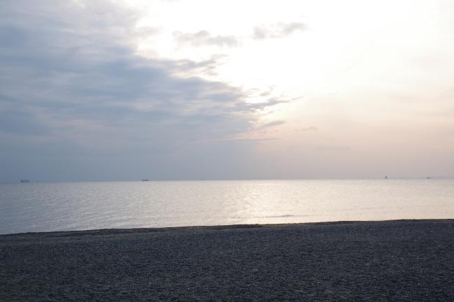 2012年2月28日 泉自然公園へサイクリング 稲毛の浜
