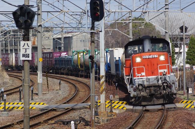 2012年3月13日 名古屋遠征 前半 DD51-857