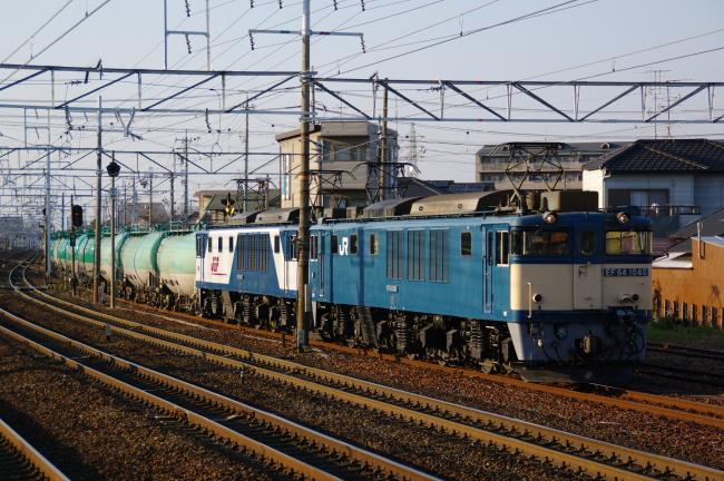 2012年3月14日 名古屋遠征 EF64-1006+EF64-1033+タキ