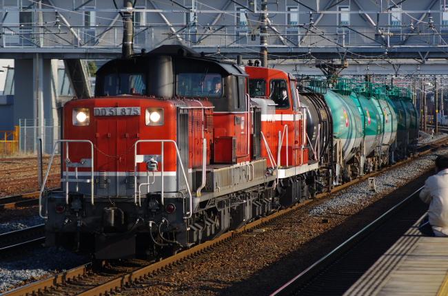2012年3月14日 名古屋遠征 5380レ DD51-875+DE10-1503+タキ