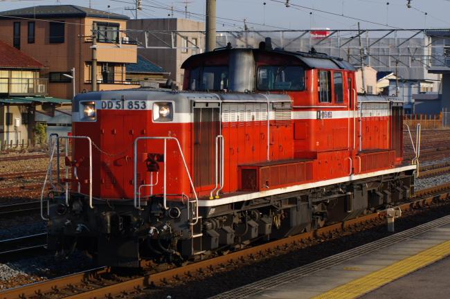 2012年3月14日 名古屋遠征 単571レ DD51-853