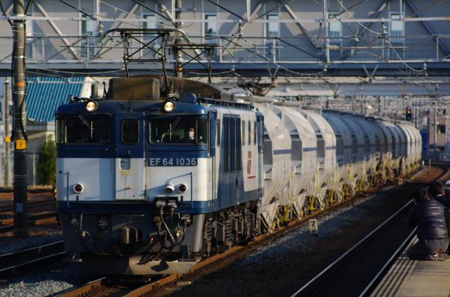 2012年3月14日 名古屋遠征 EF64-1036+ホキ