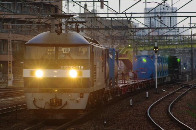 2012年3月15日 名古屋遠征 EF210-129+コキ+ヨ