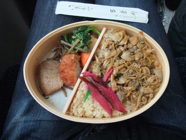 2012年3月18日 銚子旅行 あさり弁当