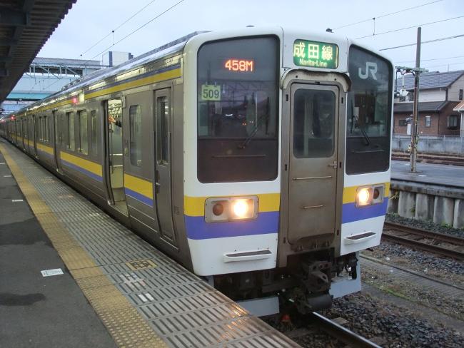 2012年3月18日 銚子旅行 211系