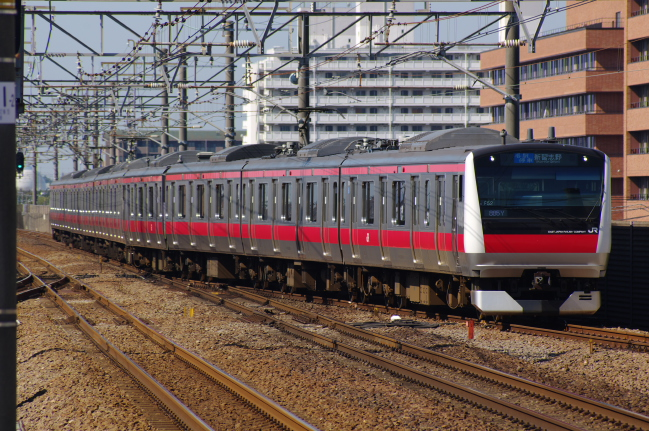 2012年4月12日 京葉線 885Y ケヨ552+F52 新浦安