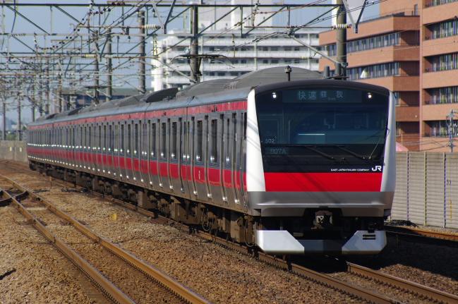 2012年4月12日 京葉線 807Y ケヨ502 新浦安