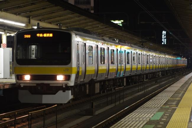 2012年4月15日総武線 ミツ507