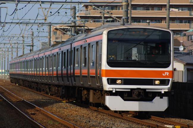 2012年4月18日 武蔵野線 M72