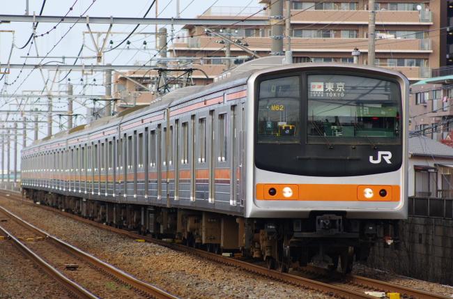 2012年4月18日 武蔵野線 M62