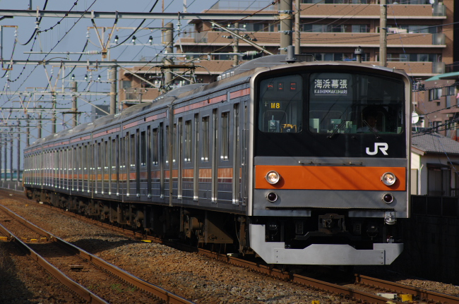 2012年4月18日 武蔵野線 M8