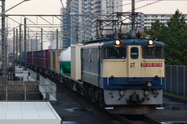 2012年4月18日 武蔵野線 4098レ